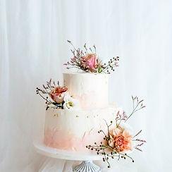 定情花海-造型婚禮蛋糕