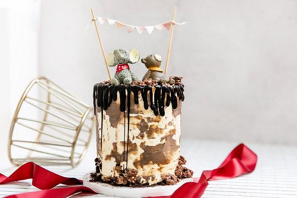 巧克力-奶油霜蛋糕
