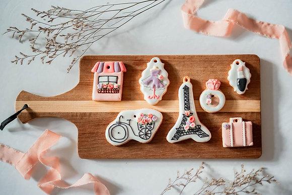 浪漫法國巴黎風 - 糖霜餅乾