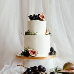 簡約的美好-造型婚禮蛋糕