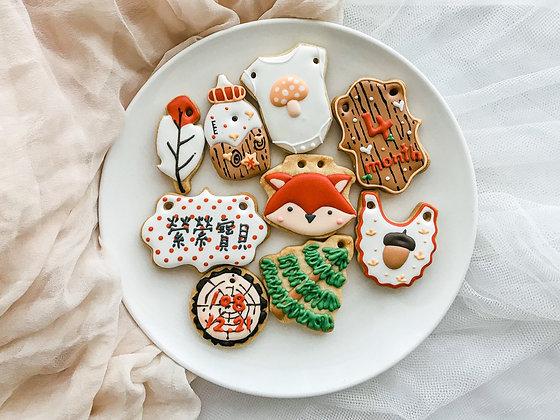 森林小狐狸 糖霜餅乾
