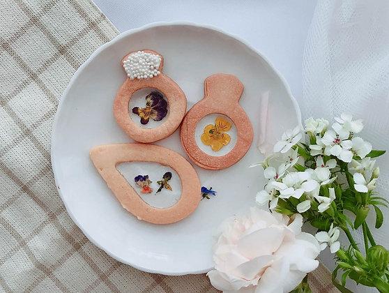 水晶花瓣 造型餅乾