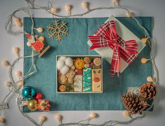 聖誕節糖霜禮盒 - 聖誕浪漫花海