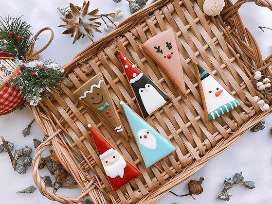 聖誕節 - 人物造型糖霜餅乾