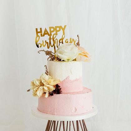 二八年華-鮮花蛋糕