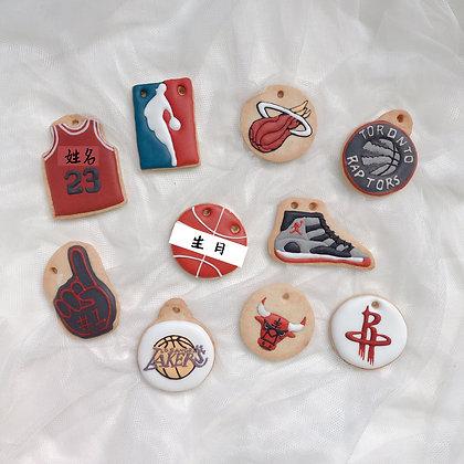 收涎餅乾 - NBA 系列