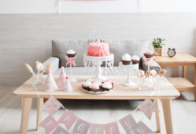 粉紅玫瑰派對包