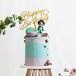 茉莉公主-公仔造型蛋糕