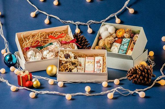 聖誕節糖霜禮盒 - 聖誕小花盒