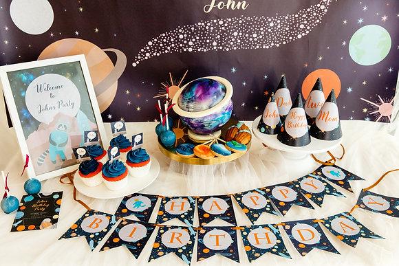 夢幻星球 DIY 生日派對包
