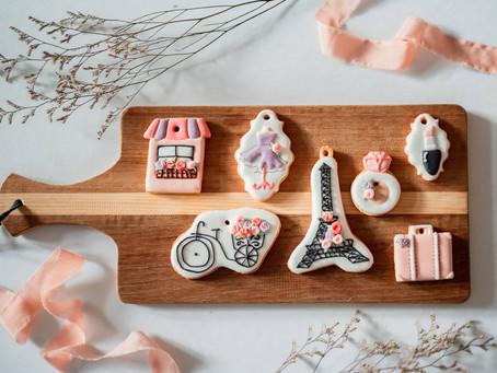 法國風糖霜餅乾 - 讓收涎儀式充滿浪漫