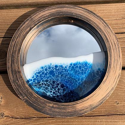 Small Ocean Mirror - Brown