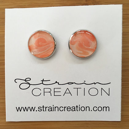 Peach and Metallic Pearl