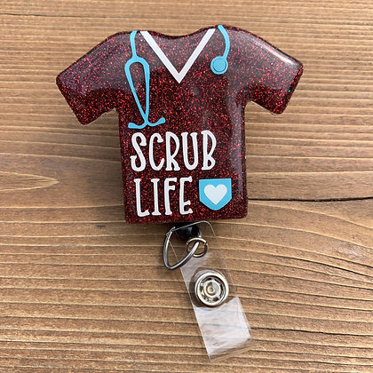 Scrub Badge Reel