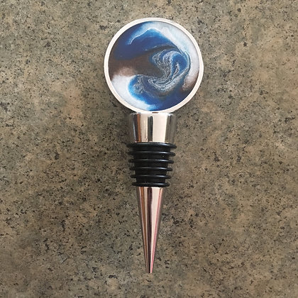 Blue, Metallic Copper, Metallic Pearl