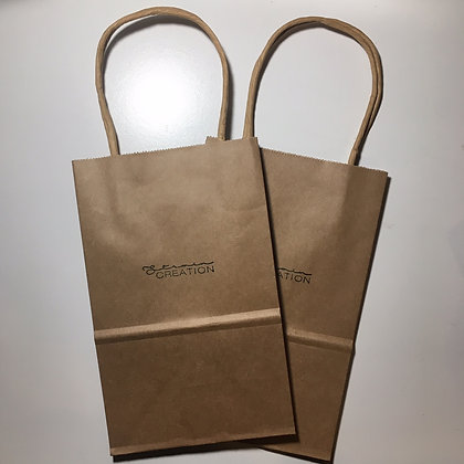 Brown Paper Bag With Logo