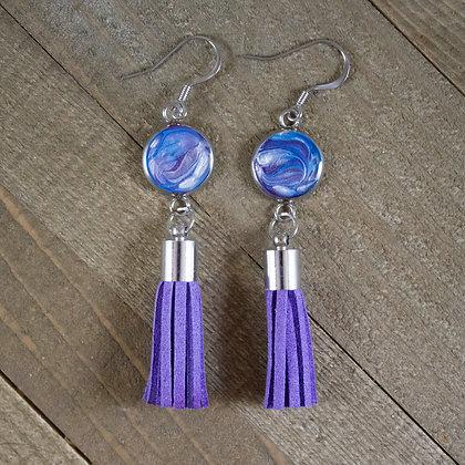 Teal, Purple, Metallic Pearl