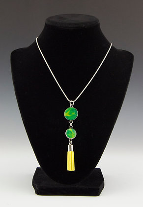 Metallic Green, Yellow