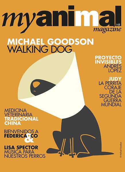 Portada revista perros España Myanimal Mgazine
