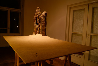 Composition on the table