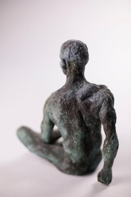 A man - bronze