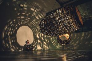 Weaving light