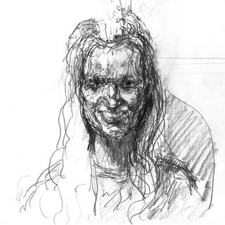 Jan Sajdak Ewa demoniczna  rysunek 20 na