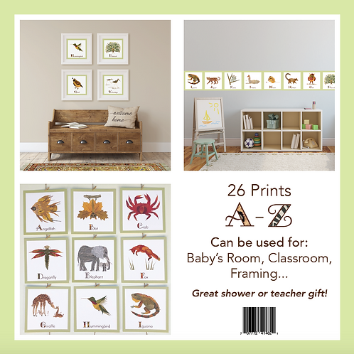 26 Alphabet Prints