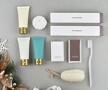 amenity set for hotel service, cosmetic