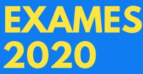 EXAMES 2020 /legislação