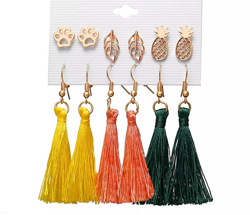 Assorted Tassel Earrings