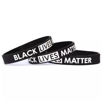 BLM Black Lives Matter Wristbands