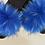 Thumbnail: Blu' Rain Faux Fur Slides