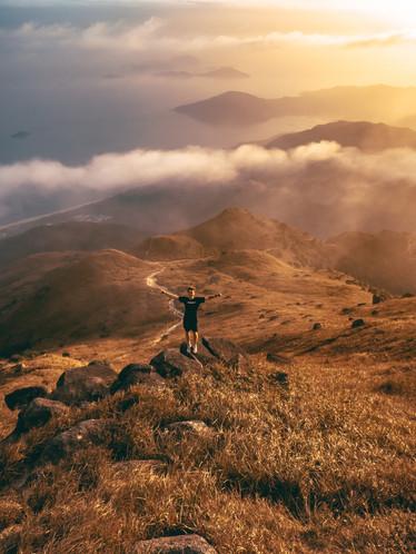 Lin Fa Shan (via Sunset Peak)