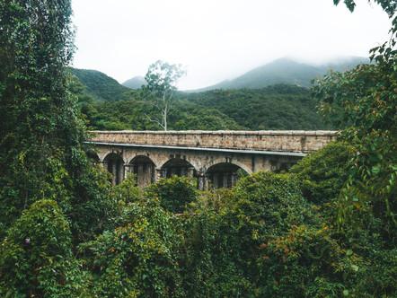 Tai Tam Mound Waterfall