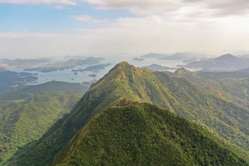 Ma On Shan to Sai Kung Ridge Trail