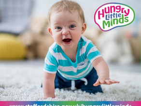 FREE Hungry Little Minds sign-up for Staffordshire and Stoke families