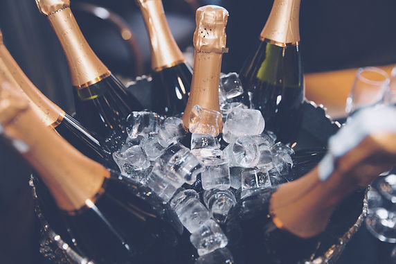 Last Minute New Year's Champagne