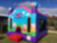peppa pig jumping castle hire melbourne and best bouncy castle rentals and party hire melbourne