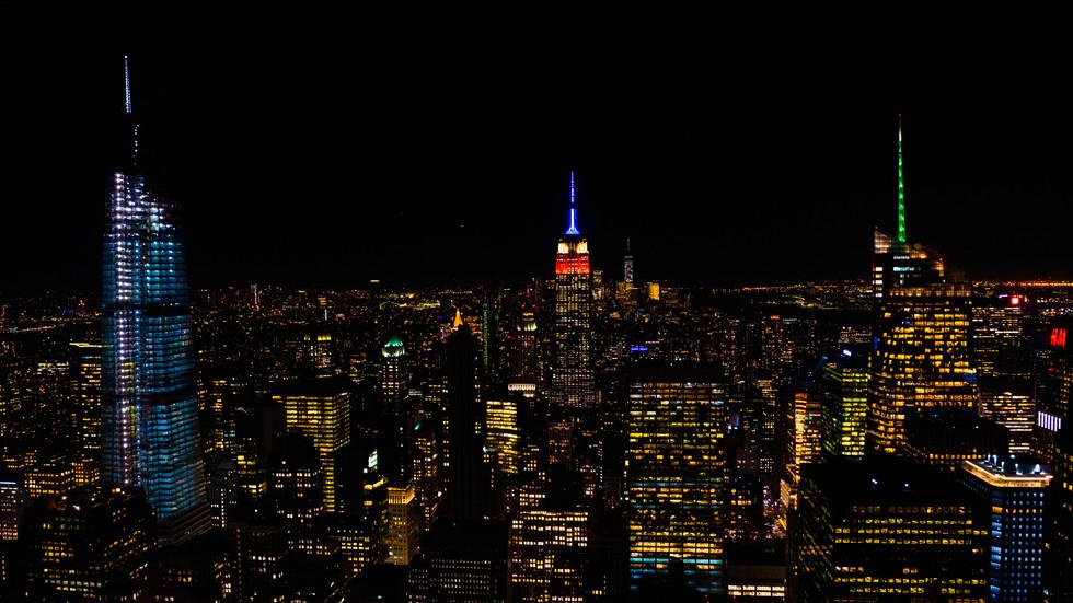 NYC View at Night