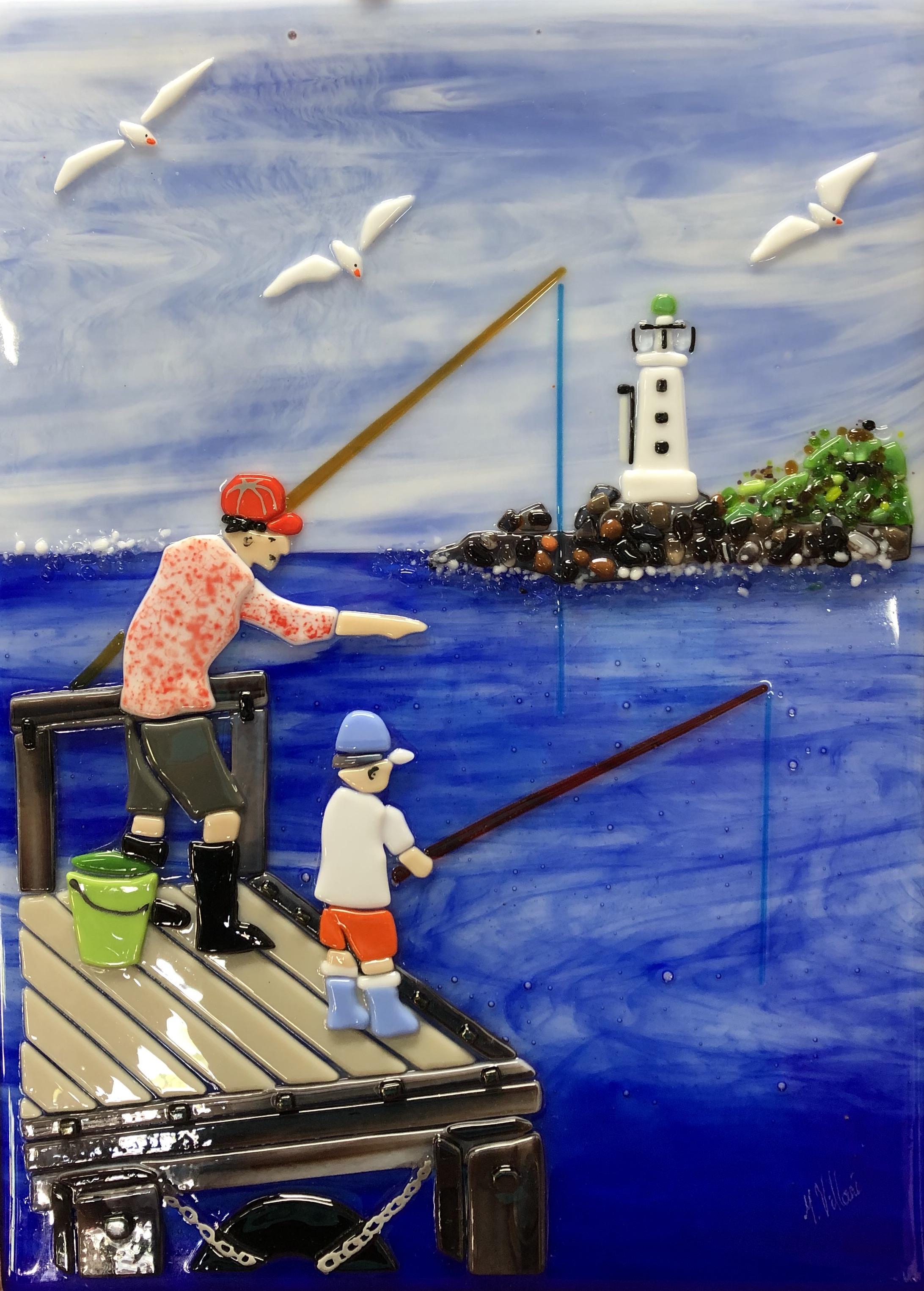 The Fishing Lesson Villani