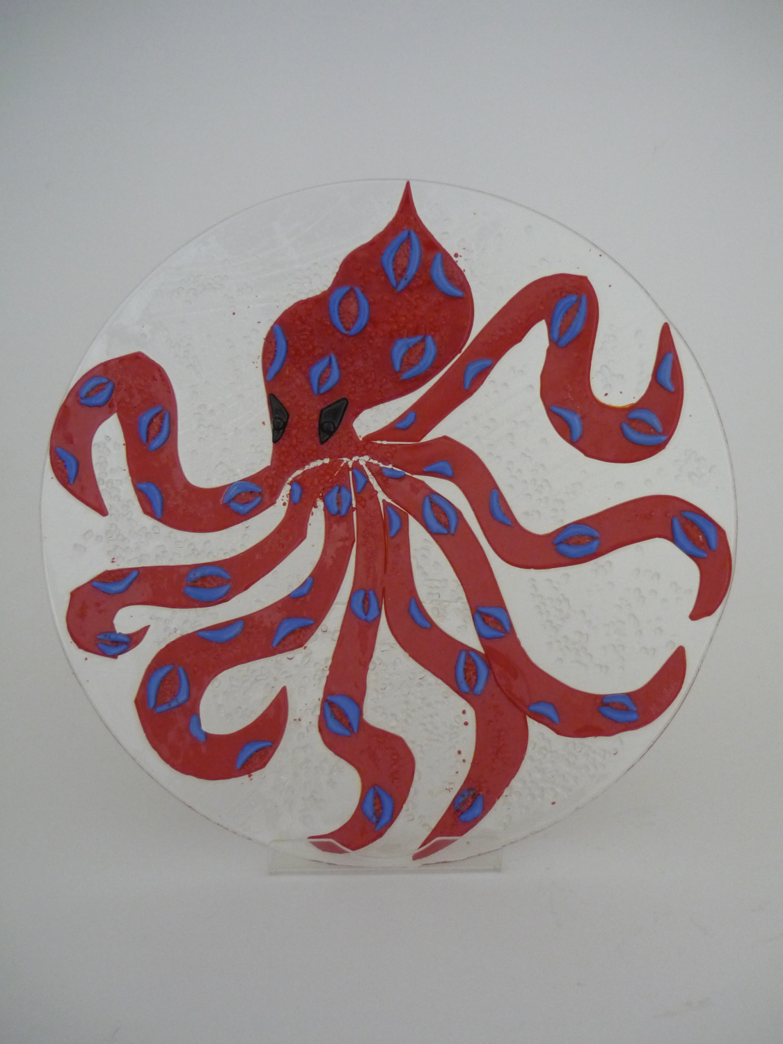 octopus red_blue ring