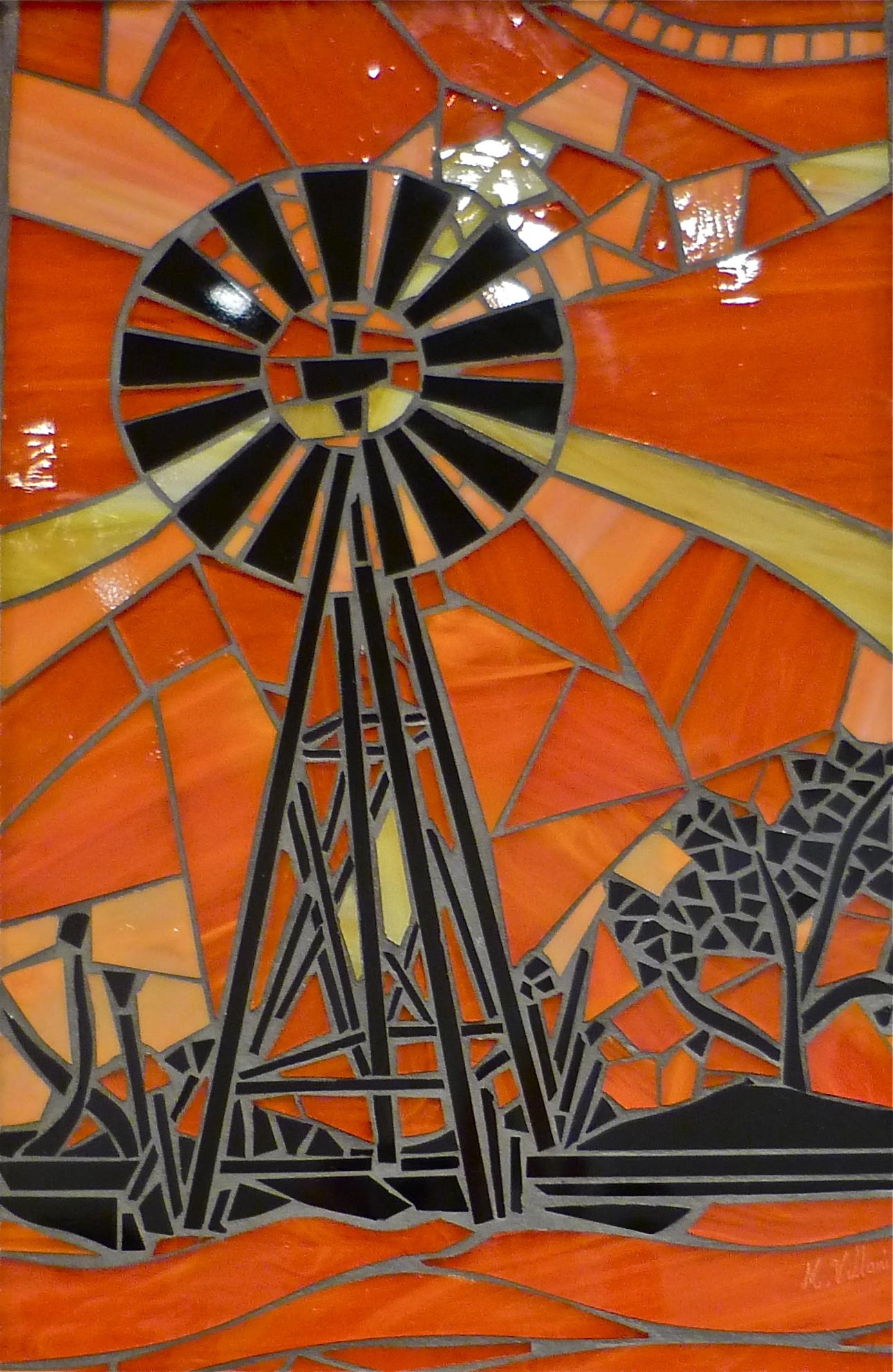 Windmill on Sunset