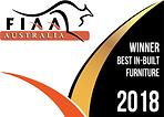 FIAA - Logo - Winner_ Best In Built Furn