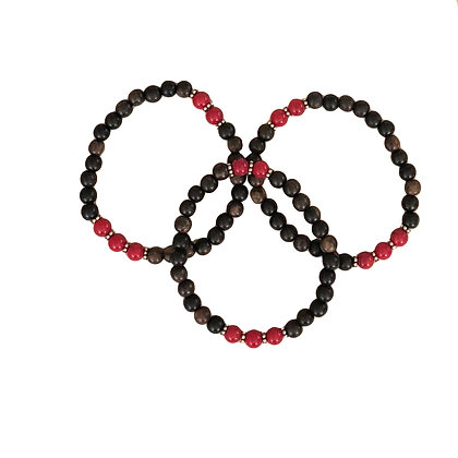 Coral Wood Bracelets