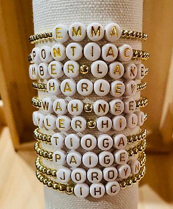 Gold Camp Bracelet