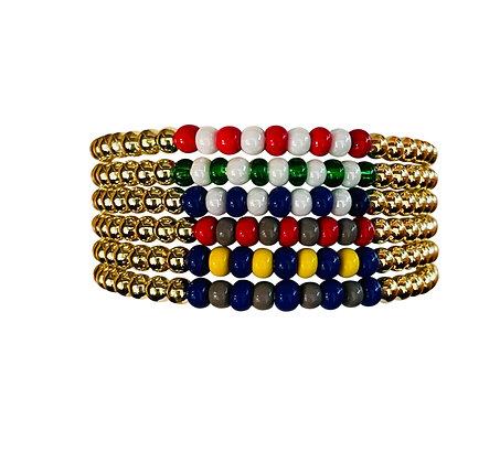 Camp Color Gold Bracelet