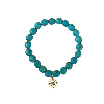 Faceted Turquoise