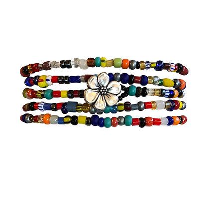 Multicolor Flower Wrap