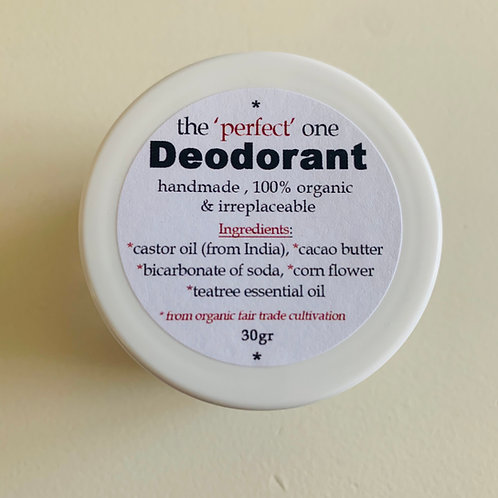 Deodorant -Purely Organic & Irreplaceable
